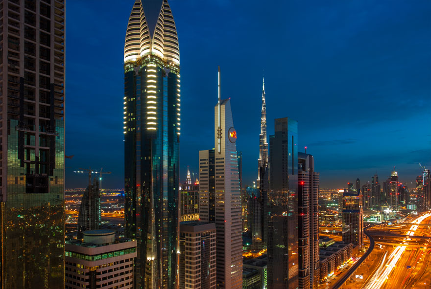 Sheikh Zayed road corridor