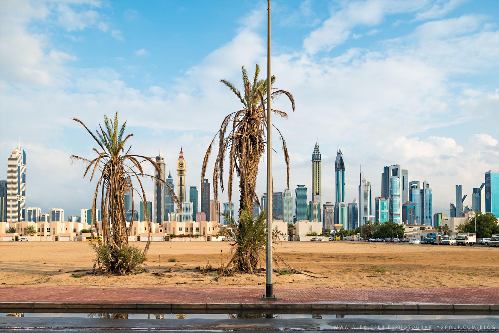 Dubai after the rain