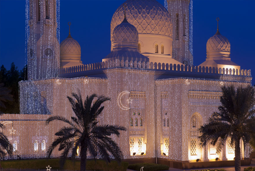 Jumeirah Mosque in Ramadan